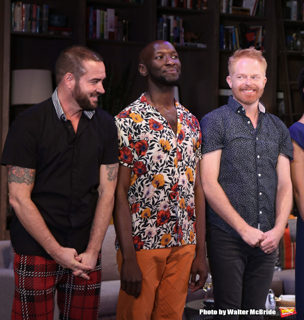 Ian Harvie, Phillip James Brannon and Jesse Tyler Ferguson Photo