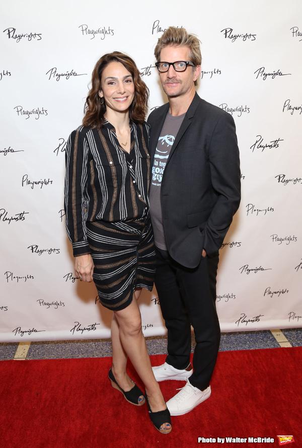 Annie Parisse and Paul Sparks