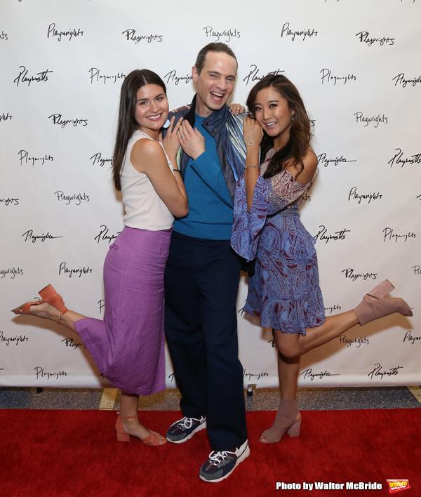 Phillipa Soo, Jordan Roth and Ashley Park