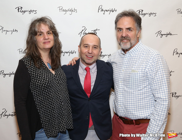 Pam MacKinnon, Jordan Harrison and Tim Sanford  Photo