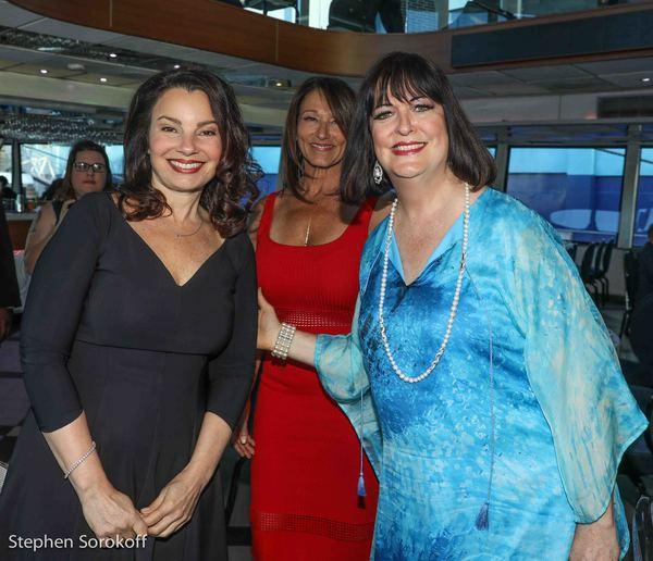 Fran Drescher, Susan Holland, Executive Director, Ann Hampton Callaway