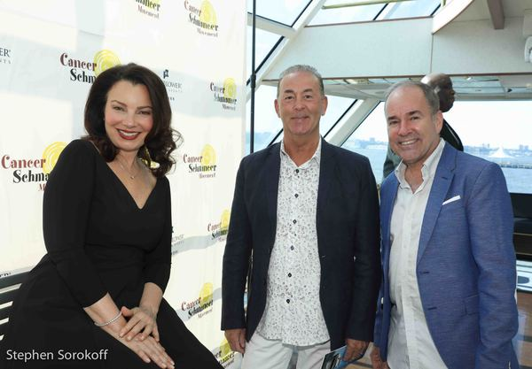 Fran Drescher, Trevor Hardwick, Stephen Flaherty Photo