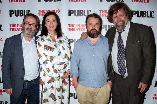 Neil Murray, Vicky Featherstone, David Ireland, Oskar Eustis