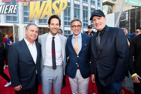 Alan Bergman; Paul Rudd; Ricky Strauss; Kevin Feige