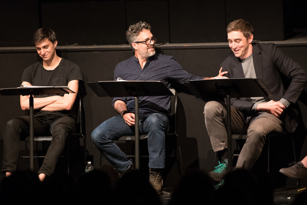 Gideon Glick, Mark Ruffalo and Lee Pace Photo