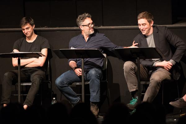Gideon Glick, Mark Ruffalo and Lee Pace