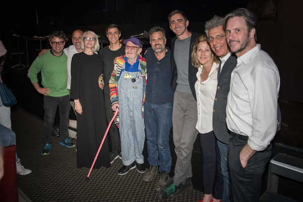 Trip Cullman, Scott Elliott, Ellen Barkin, Gideon Glick, Larry Kramer, Mark Ruffalo,  Photo