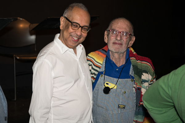 George C. Wolfe and Larry Kramer