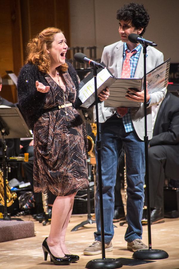 Donna Lynne Champlin, John Cariani  Photo