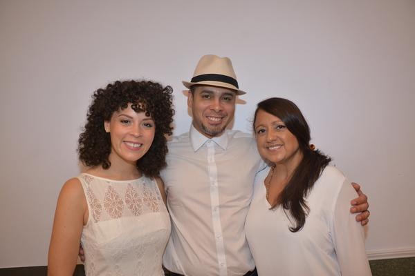 Genny Lis Padilla, Wilson Jermaine Heredia and Natalie Toro