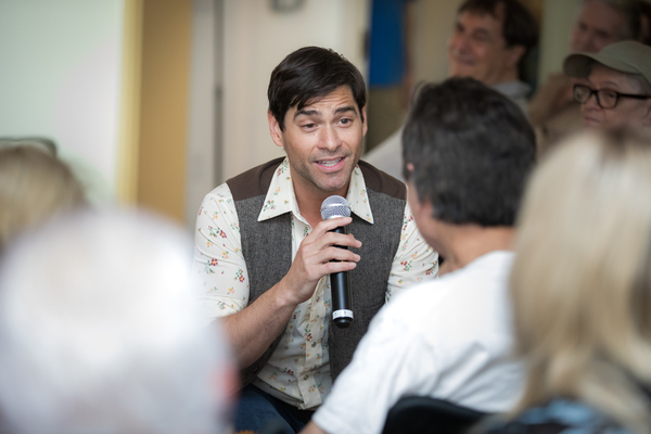 Photo Flash: Cast of BEAUTIFUL Performs for Sing For Your Seniors for Pride Month