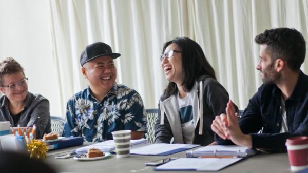 Jessi D. Hill, Kit Yan, Melissa Li.