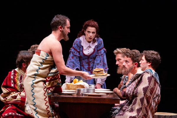 Photo Flash: First Look at  Broadway At Music Circus' SEVEN BRIDES FOR SEVEN BROTHERS