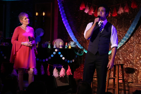 "Liz Callaway and Adam Jacobs sing ""Out of Thin Air� from ""Aladdin: Prince of Thieves�"
