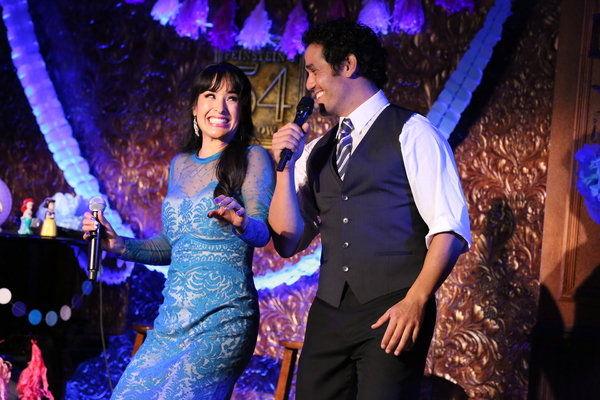 "Courtney Reed and Adam Jacobs sing ""A Whole New World� from ""Aladdin�"