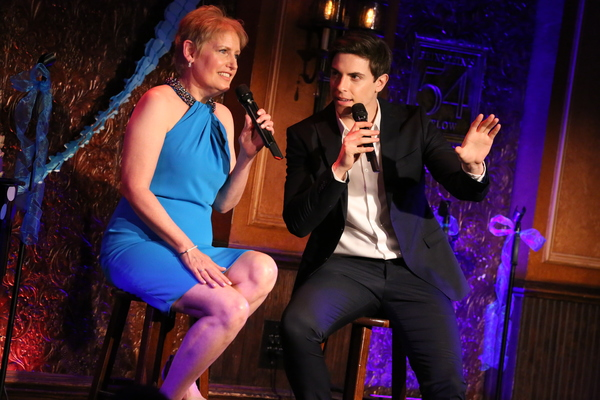 "Liz Callaway and Derek Klena sing ""In A Crowd Of Thousands� from ""Anastasia�"