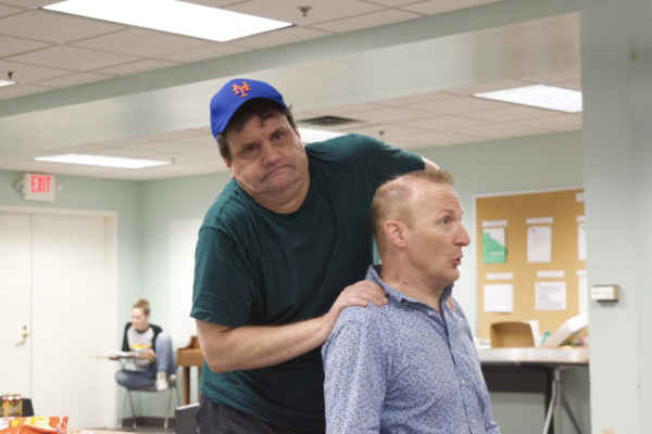 Photo Flash: In Rehearsal With HSRT's THE ODD COUPLE