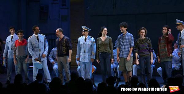 Etai Benson, Ari'el Stachel, Andrew Polk, Samson Gabay, Katrina Lenk, John Cariani, Kristen Sieh, Adam Kantor and cast