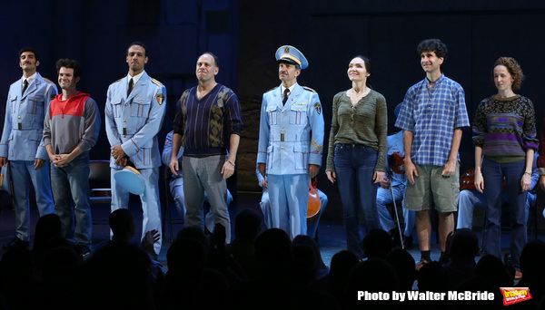 Etai Benson, Ari'el Stachel, Andrew Polk, Samson Gabay, Katrina Lenk, John Car Photo