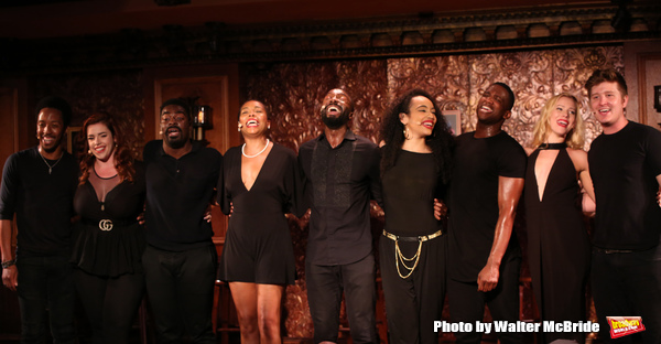 Dwayne Cooper, Alysha Umphrees, Kyle Taylor Parker, Dionne D. Figgins, John Edwards,  Photo