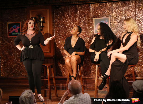 Alysha Umphress, Dionne D. Figgins, Nicole Vanessa Ortiz, and Emma Degerstedt Photo