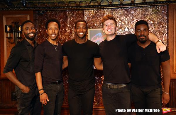 John Edwards, Dwayne Cooper,Jelani Remy, Max Sangerman and Kyle Taylor Parker
