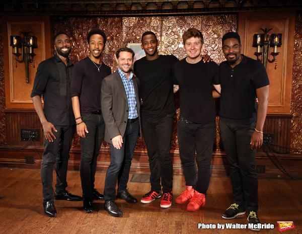 John Edwards, Dwayne Cooper,Joshua Bergasse, Jelani Remy, Max Sangerman and Kyle Taylor Parker