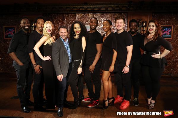 Photo Coverage: The Cast of SMOKEY JOE'S CAFE Meets the Press at Feinstein's/54 Below!