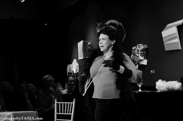 THE THEATRE COMMITTEE OF THE NATIONAL ARTS CLUB in association with THE HARLEM SHAKESPEARE FESTIVAL presented MABEL MADNESS: The Life and Times of Mabel Mercer.  Written by and Starring Tony Award Win