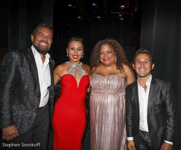 Photo Coverage: Clint Holmes, Natalie Douglas, Veronica Swift, and Nicolas King in 'New York Old Friend'