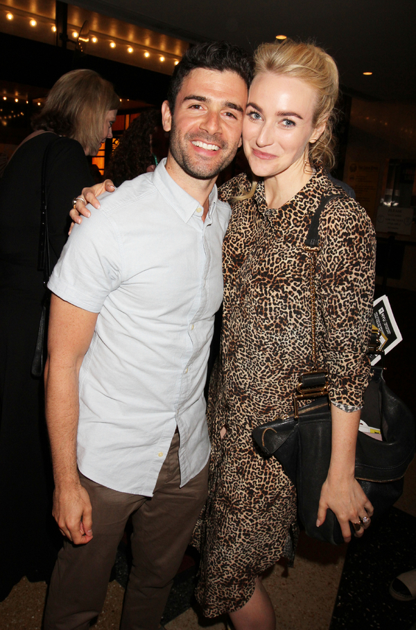 Adam Kanto and Betsy Wolfe