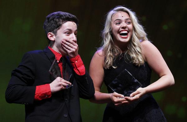 Jimmy Awards winners Andrew Barth Feldman and Renee Rapp