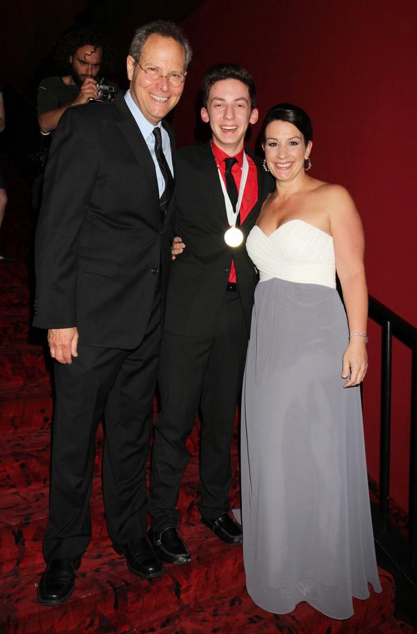 Van Kaplan, Andrew Barth Feldman and Kiesha Lalama