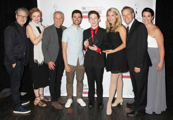 Bernard Telsey, Rachel Hoffman, Marc Platt, Adam Kantor, Andrew Barth Feldman, Renee  Photo