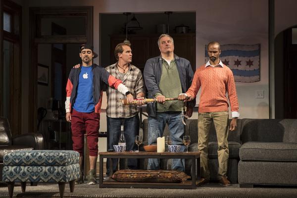 Tommy Rivera-Vega (Kevin), Ryan Kitley (Brian), Keith Kupferer (Roger) and Anthony Irons (Delano)