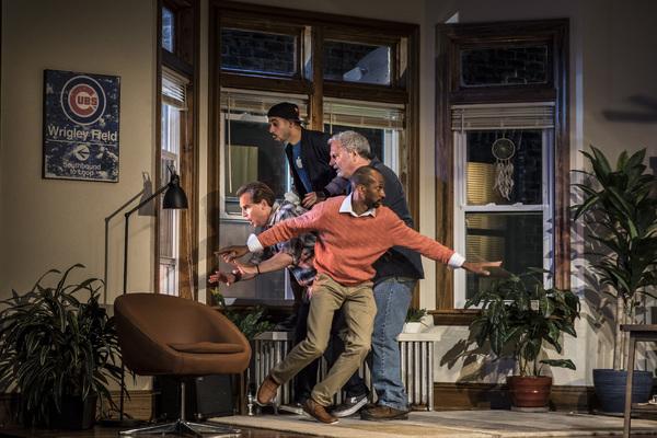 Ryan Kitley (Brian), Tommy Rivera-Vega (Kevin), Keith Kupferer (Roger) and Anthony Irons (Delano)