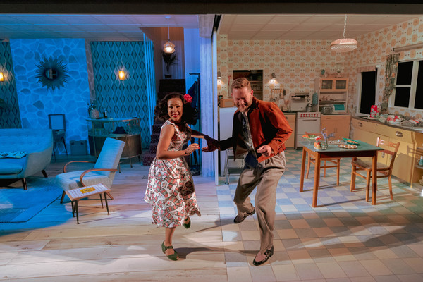Kathryn Drysdale as Fran and Barnaby Kay as Marcus Photo