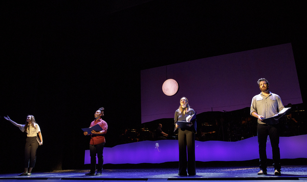 Photo Flash: First Look at Shoshana Bean, Colin Donnell, Mykal Kilgore & Solea Pfeiffer in Encores! Off-Center's SONGS FOR A NEW WORLD