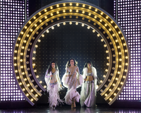 Photo Flash: It's Cher x3! First Look at Stephanie J. Block, Teal Wicks & Micaela Diamond in THE CHER SHOW