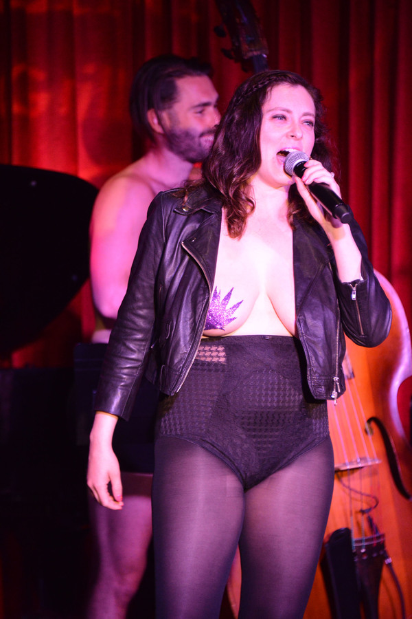 Photo Flash: The Skivvies Bring a Taste of Undie-Rock to Los Angeles