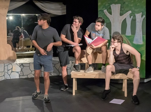 Photo Flash: Rehearsal Photos from GREASE Presented by TexARTS