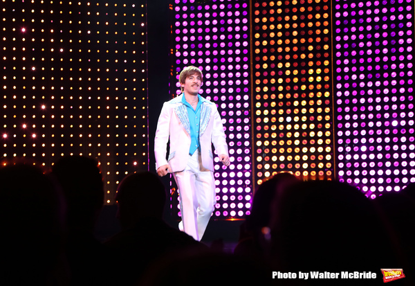 CHICAGO, IL - JUNE 28:  Jarrod Spector during the Pre-Broadway Premiere Opening Night Curtain Call for 'The Cher Show' at the Oriental Theatre on June 28, 2018 in Chicago.  (Photo by Walter McBride/Getty Images) *** Local Caption *** Jarrod Spector