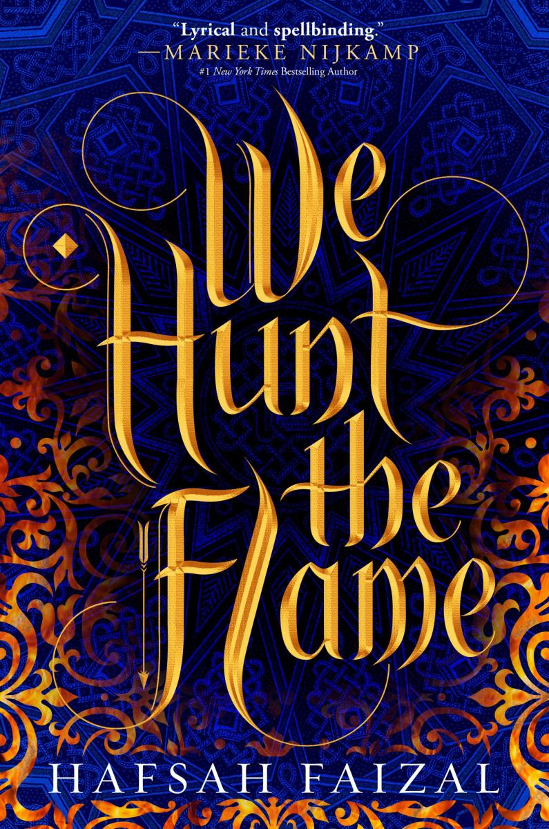 BWW Previews: Highly Anticipated Debut Novel WE HUNT THE FLAME by Hafsah Faizal Reveals Its Cover