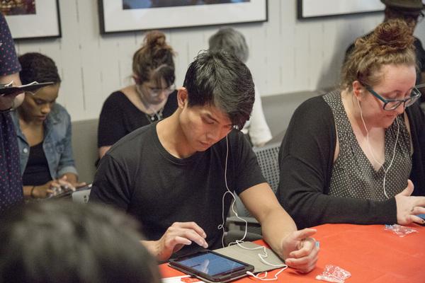 Photo Flash: Alex Newell, Jessie Mueller, and Fellow Stars Attend Broadway Match Maker