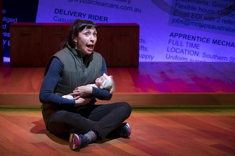BWW REVIEW: UNQUALIFIED Is A Hilarious And Heartwarming Tale Of Comfort Zones and Coping As Two Women Find Themselves Wanting Work