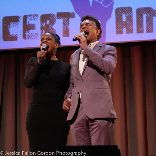 Audra McDonald and Brian Stokes Mitchell