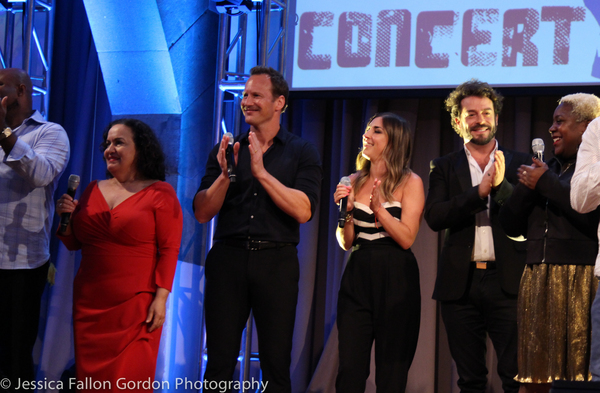 Olga Merediz, Patrick Wilson and the Concert for America Singers