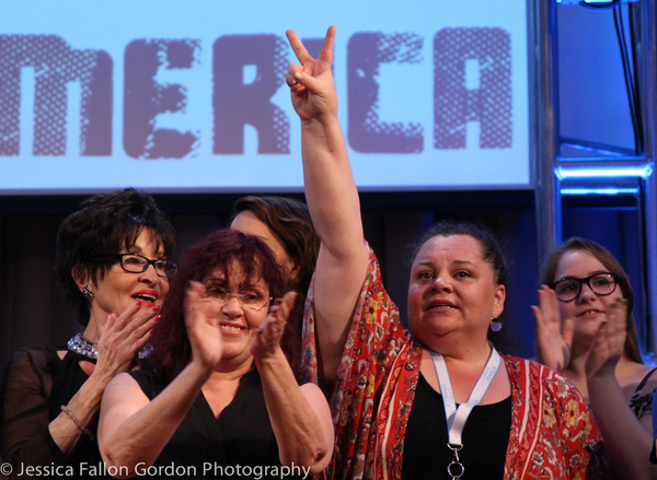 Chita Rivera, Lisa Mordente, and Keala Settle