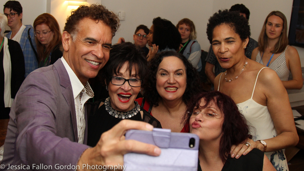 Brian Stokes Mitchell, Chita Rivera, Olga Merediz, Lisa Mordente, and Allyson Tucker