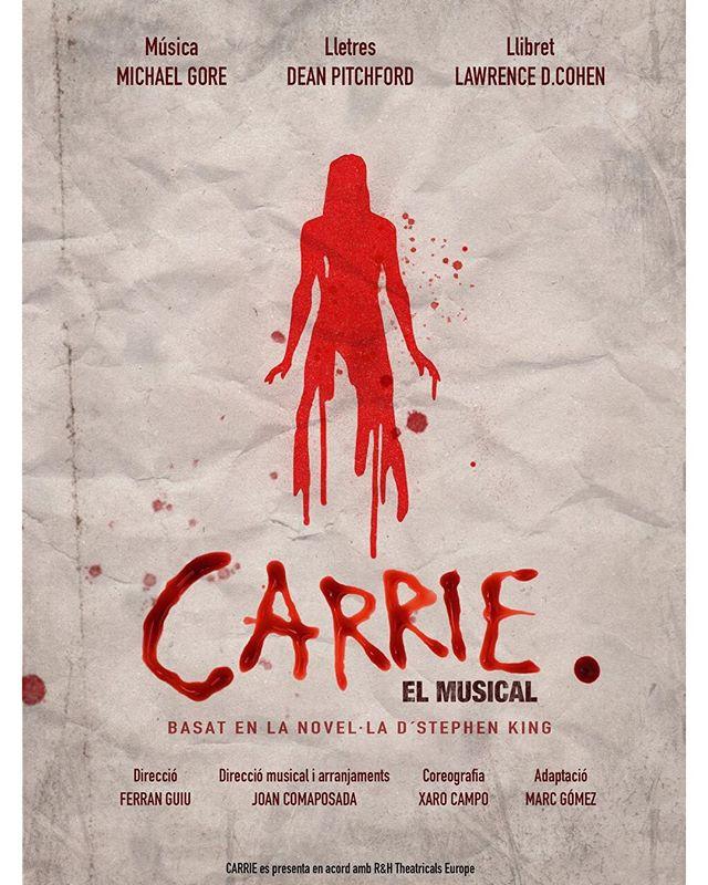 PHOTO FLASH: Se desvela el cartel de CARRIE EL MUSICAL